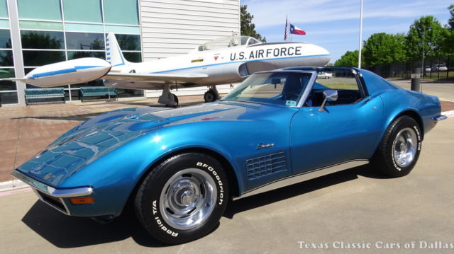1972 Chevrolet Corvette 454 #'s matching ***LOWERED RESERVE*** - Bryar Blue