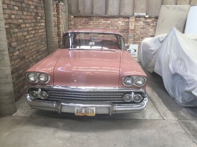 1958 Chevy Two Door Impala Coupe