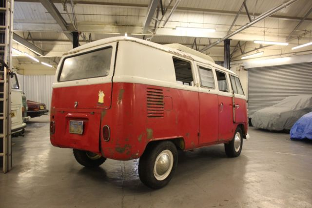 1967 VOLKSWAGEN SPLIT SCREEN SO 42 WESTFALIA CAMPER VAN BUS