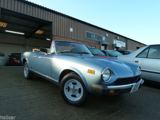 1981 FIAT 124 SPIDER 2000 Just 35k Miles, 15 Year Restoration, Beautiful Classic