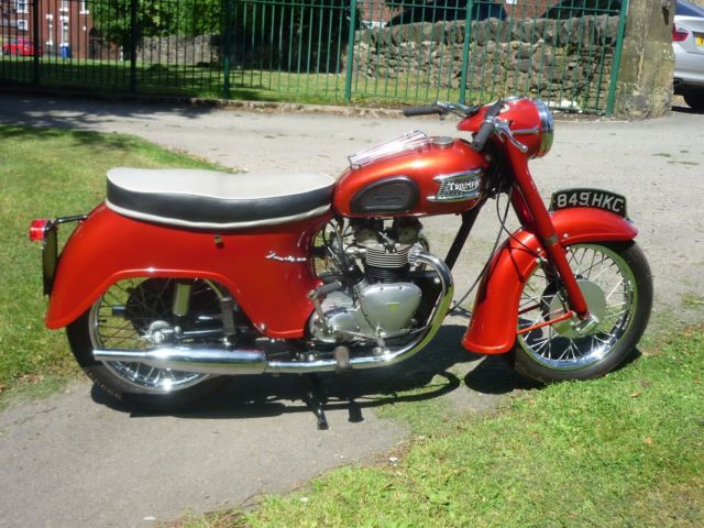 1963 Triumph 21 3TA 'Bathtub'  350cc Twin classic motorcycle