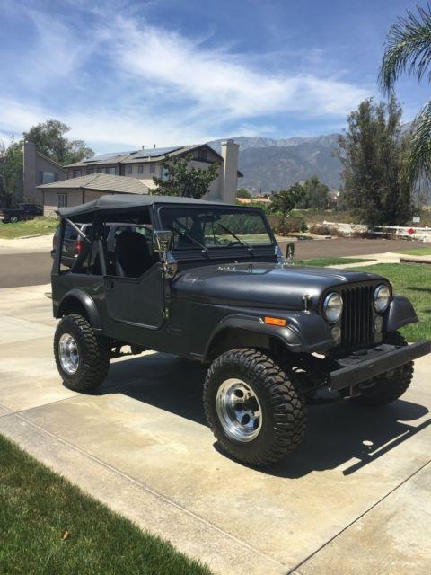 1986 CJ Jeep 7 with 96,000 original miles