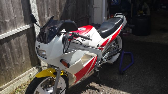 Yamaha tzr125 ypvs full power