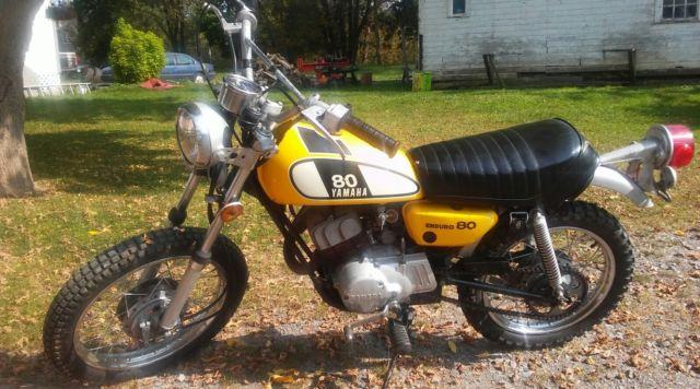 1974 Yamaha GT80