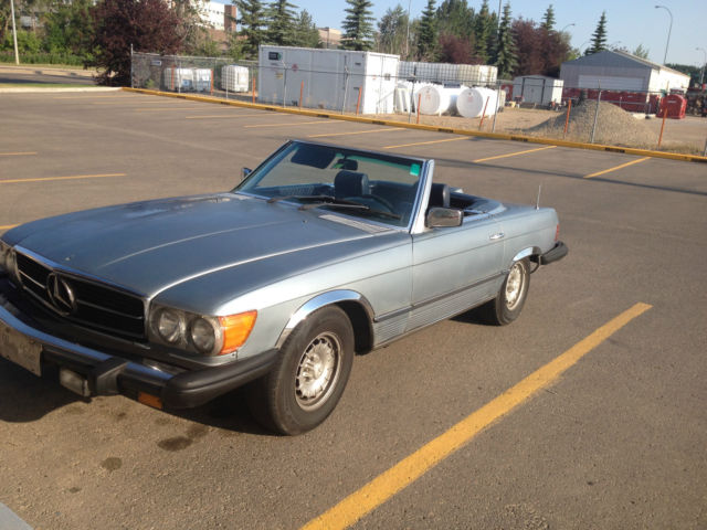 Mercedes benz 400 series 450sl for sale red deer for Mercedes benz for sale in canada