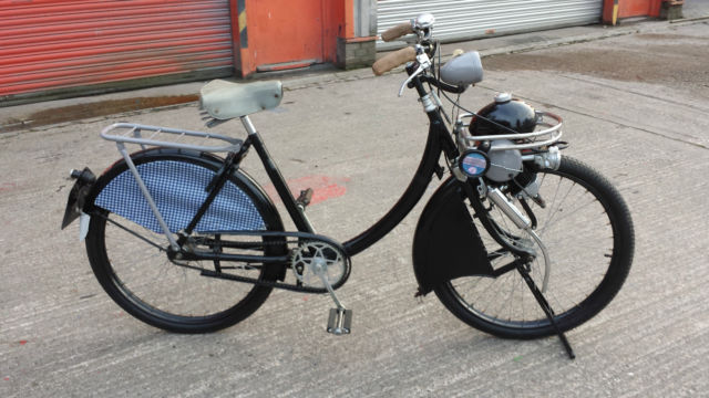 VINTAGE BERINI M13 CYCLEMOTOR AUTOCYCLE MOPED CIRCA 1950