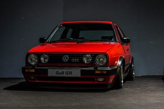 1990 VW VOLKSWAGEN GOLF GTI 8V TONADO RED 3DR BBS RS RADINOX