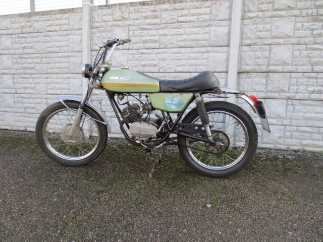 Collectors Moto Guzzi Nibbio 50cc 1974 Bike UK Reg Very Rare  FS1E of Italy