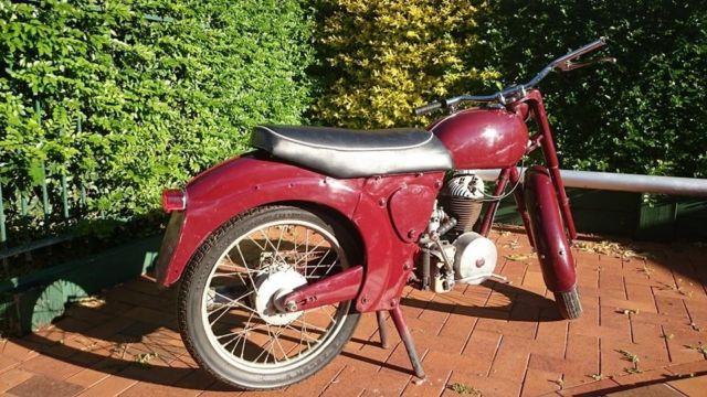 1957 James Cadet L15 Vintage motorcycle 197cc Villiers