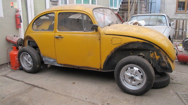 1973 CLASSIC VW T1 JEANS BEETLE PROJECT (BARN FIND)