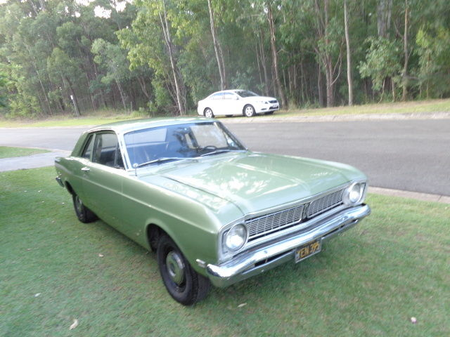 1969 FORD FALCON COUPE RUST FREE LHD XW XY  6 CYLINDER AUTO P/STEER