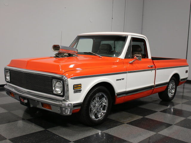 1972 Chevrolet C-10 Supercharged