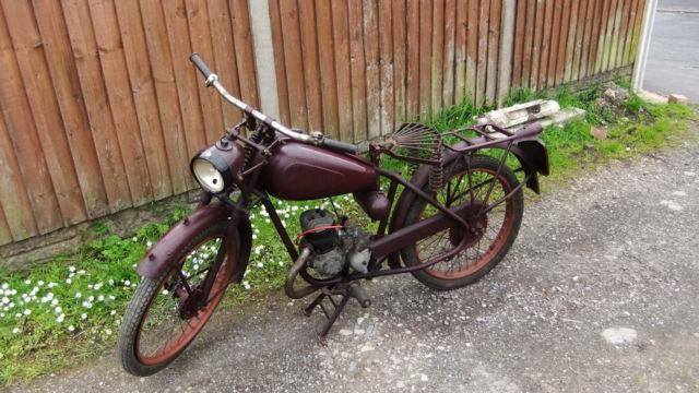 james comet 98cc motorcycle