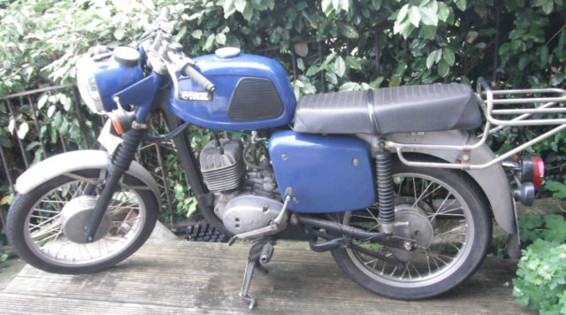 MZ TS 125 ALPINE (1980) Classic Recent Runner/Project - Current MOT til October