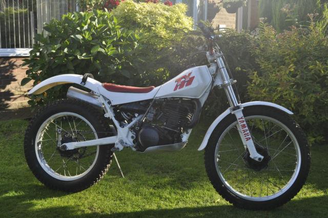 Yamaha TY250R Trials Bike