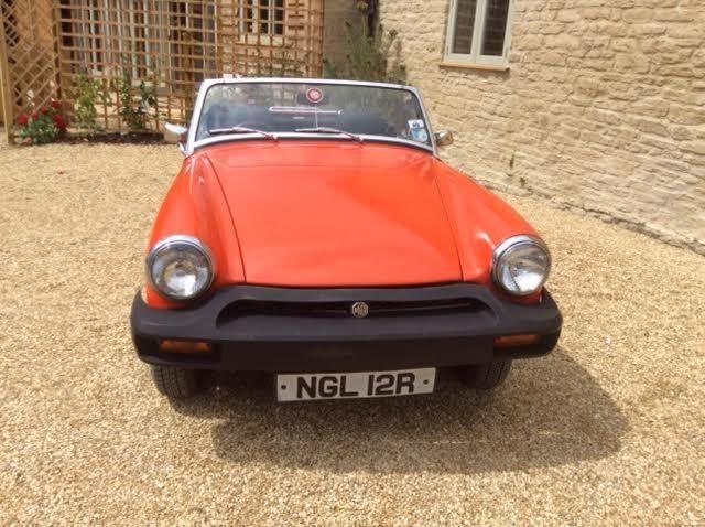 1976 MG MIDGET 1500 RED  ***12 Months MOT***