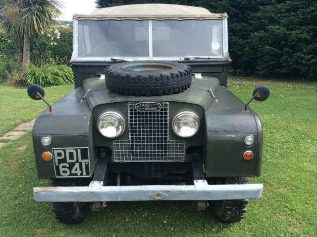 Land Rover series 1 pdl 641