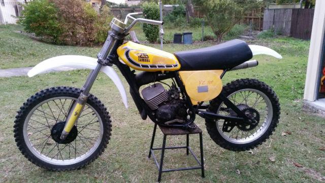 Yamaha YZ125C/X 1976 VMX Pre 78