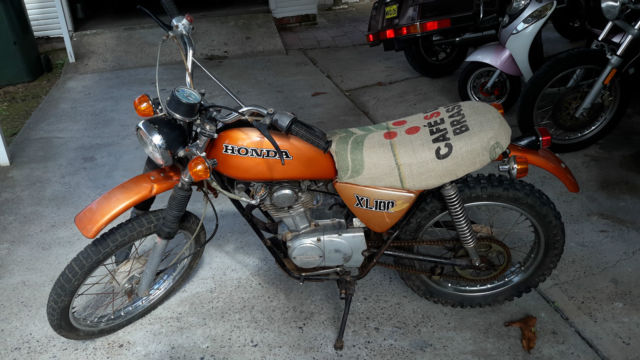 Honda 1974 XL 100 For Sale sydney, New South Wales ...