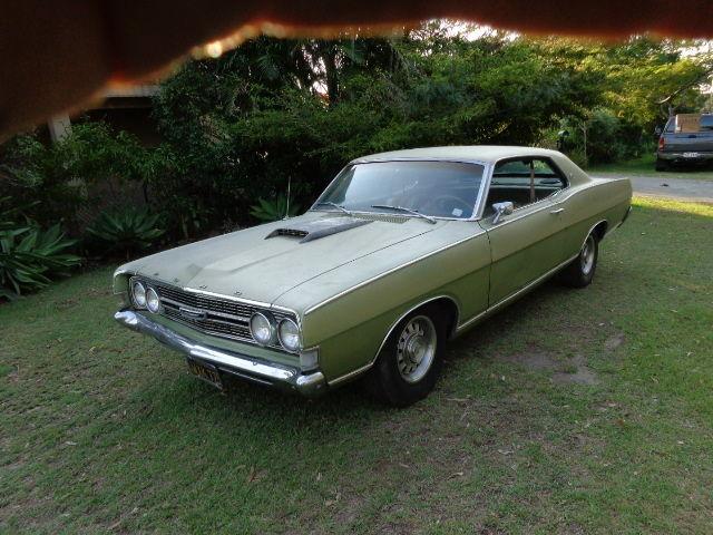 1968 FORD TORINO 2 DOOR HARDTOP 302 AUTO P/STEER CLEAN CA CAR XW XY FALCON GT