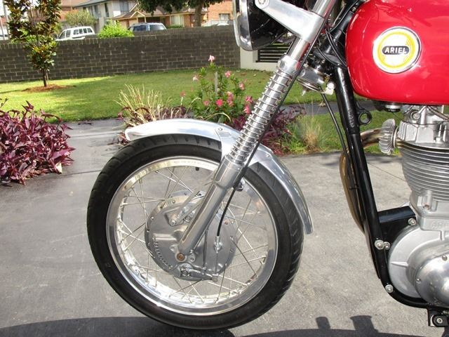 1955 Ariel Red Hunter motor cycle For Sale Malabar NSW ...