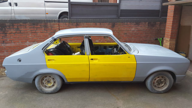 FORD ESCORT MK2 1300 POPULAR PLUS 1979 V 4 DOOR EASY PROJECT LOWERED POLYBUSHED