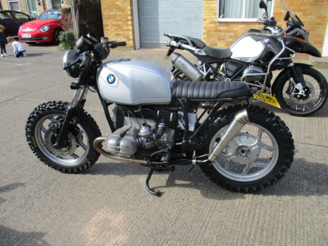 bmw r80 scrambler brat for sale kent united kingdom. Black Bedroom Furniture Sets. Home Design Ideas