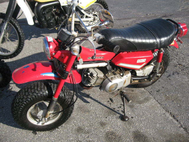 1973 Suzuki RV-90 Motorcycle For Sale York, Pennsylvania