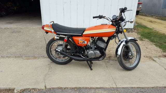 1975 Kawasaki H1 For Sale Davenport, Iowa, United States