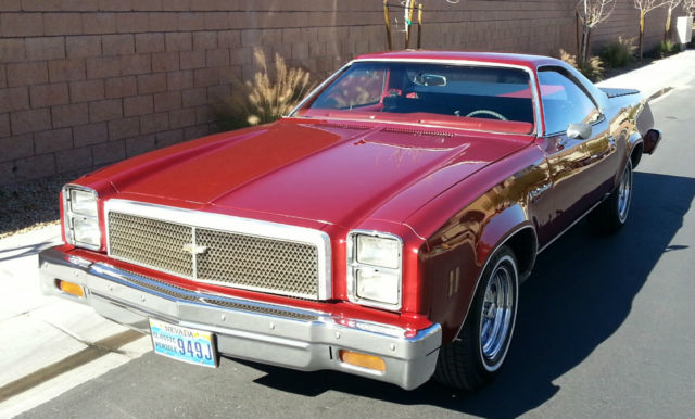 Chevrolet 1976 El Camino Classic - Recently Restored - Rare Straight 6 Engine