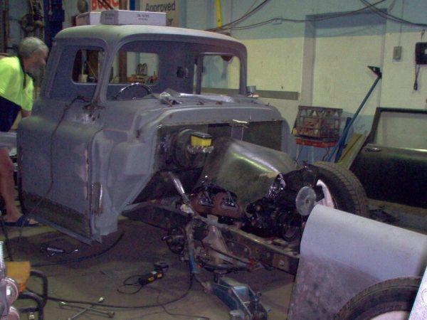 1958 Chevy Apache Stepside Pickup For Sale Bradbury, NSW