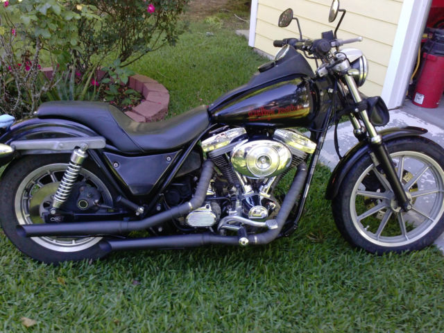 1989 Harley-Davidson FXR, Original Paint, Matching Numbers Superglide II
