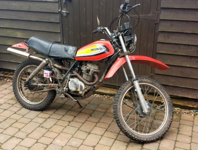 Honda XL100 FILD BIKE