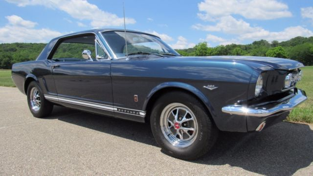 1965 Mustang GT, 4 speed, fully restored