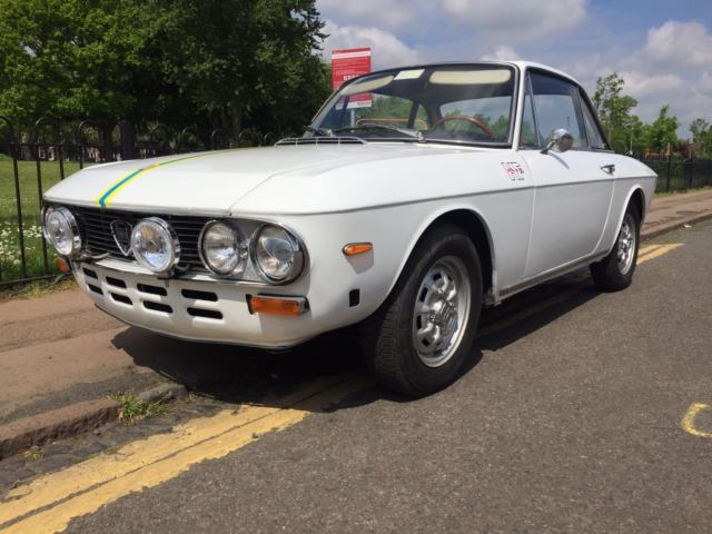 LANCIA FULVIA 1.3S LHD 1972 WITH UK MOT GREAT ORIGINAL CONDITION