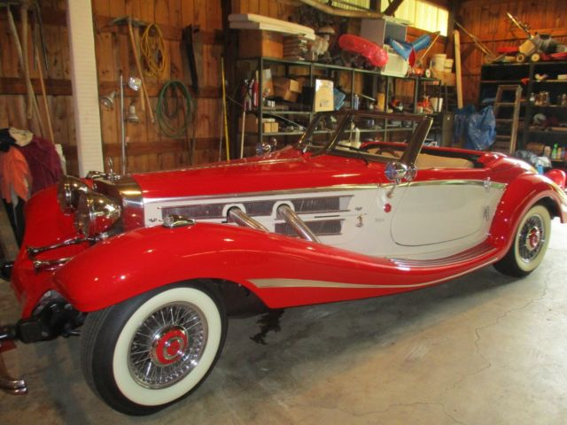 1934 Replica/Kit Makes Mercedes 500K Finished in 2013