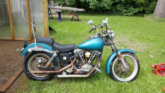 Harley Davidson Baton Rouge >> 1977 Harley Davidson Super Glide FXE - NO RESERVE!!! For ...