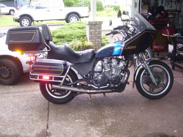 1981 HONDA CB750C Custom Set Up For Touring NO RESERVE