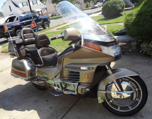 1989 Honda Goldwing GL1500 Motorcycle