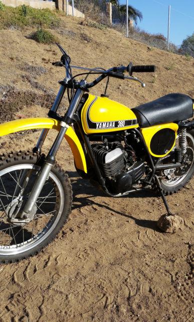 1974 Yamaha MX 360