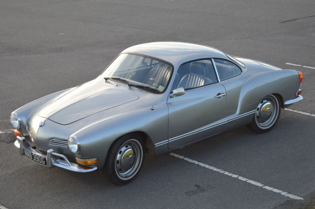 1969 VOLKSWAGEN KARMANN GHIA / SILVER / RECON ENGINE / SUPER COOL CAR