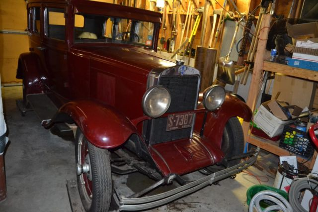 1929 Chevrolet 4 door sedan