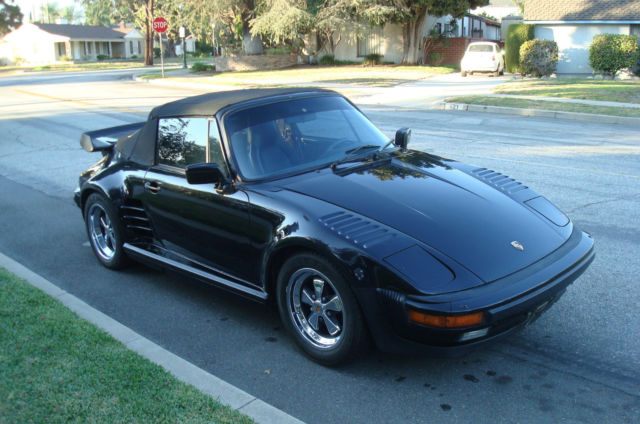 1986 Porsche 911 930 Turbo Slant Nose Cabriolet