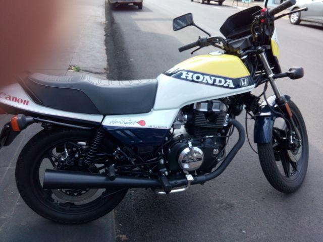 Honda CB 450 E Especial Edition Nelson Piquet - Rare - collector - andinos