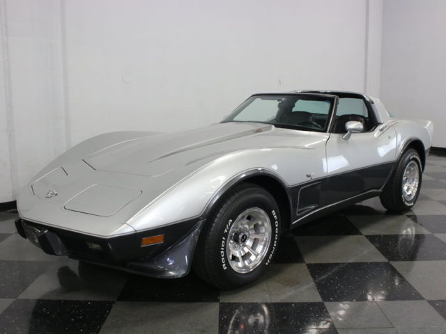 AWESOME EXAMPLE OF A 25TH ANNIVERSARY VETTE! BEAUTIFUL PAINT, L82, DOCS, 2 OWNER