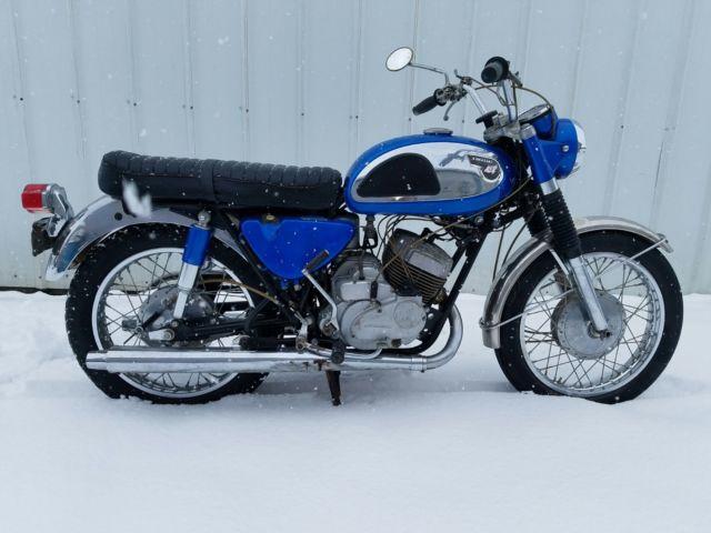 1968 Kawasaki A7 Avenger ONE TRUE Owner!