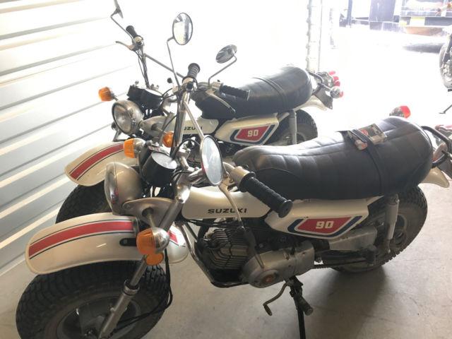 1974 Suzuki RV90 (set of 2) good condition very clean