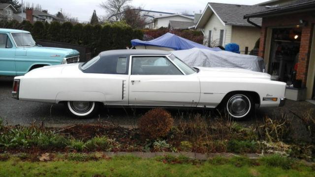 1972 Cadillac Eldorado Base Hardtop 2-Door 8.2L
