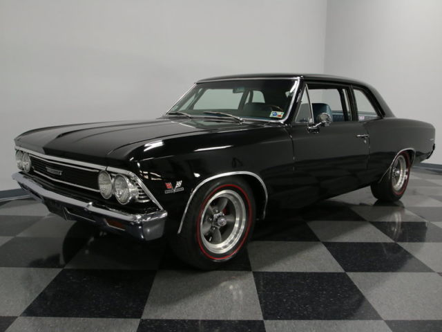 FULLY RESTORED, BIG BLOCK 396CI POWER, 4 SPEED MANUAL, SUPER SLICK PAINT, NICE!