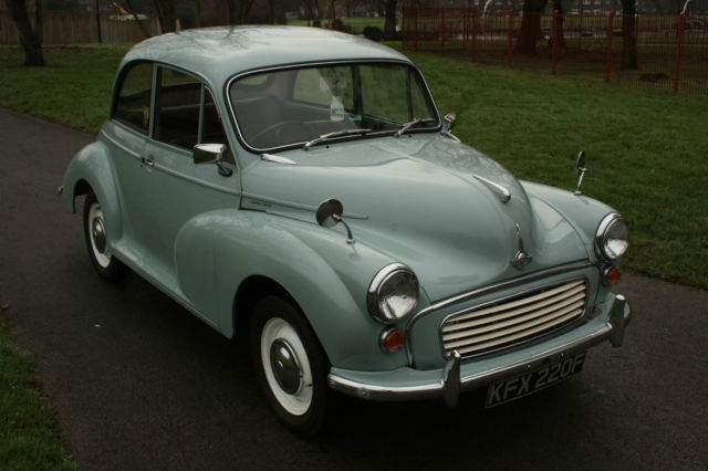 1967 Morris Minor 1000 - Wedgwood Blue, 12 months MOT - Drive away classic car!
